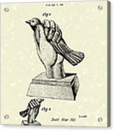 Bird In The Hand Coin Bank 1943 Patent Art Acrylic Print