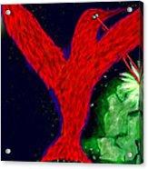 bird of Superman Acrylic Print