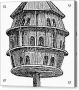Birdhouse, 19th Century Acrylic Print