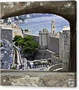 Bird's Eye View Of Dubrovnik Acrylic Print