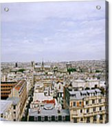 Panoramic Paris Acrylic Print