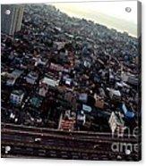 Birds Eye View Of The Pasay City Acrylic Print