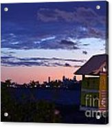 Birds View From Penthouse  Acrylic Print