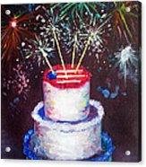 Birthday In America Acrylic Print