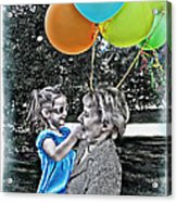 Birthdays Acrylic Print by Joan  Minchak
