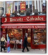 Biscuits And Calvados Acrylic Print