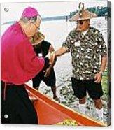 Bishop Arrives Acrylic Print