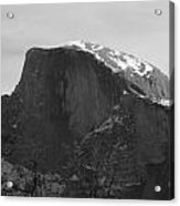 Black And White Half Dome Acrylic Print