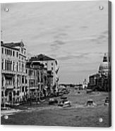 Black And White Venice 3 Acrylic Print
