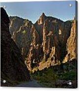 Black Canyon  Acrylic Print