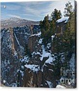 Black Canyon Of The Gunnison Acrylic Print