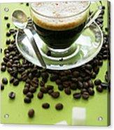 Black Coffee Acrylic Print