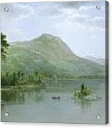 Black Mountain From The Harbor Islands - Lake George Acrylic Print