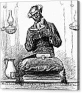 Black Preacher, 1890 Acrylic Print