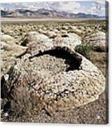 Black Rock Desert Acrylic Print