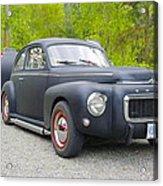 Black Volvo Acrylic Print