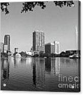 Black White Orlando Acrylic Print