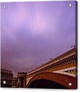 Blackfriars Bridge Acrylic Print