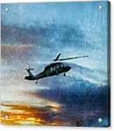 Blackhawk Helicopter Acrylic Print