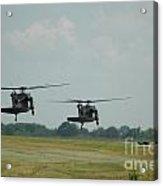 Blackhawks Landing Acrylic Print