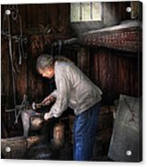Blacksmith - Tinkering With Metal  Acrylic Print