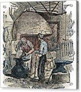 Blacksmith, C1865 Acrylic Print