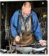 Blacksmith Acrylic Print