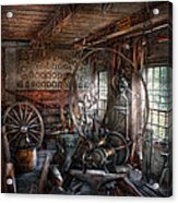 Blacksmith - That's A Lot Of Hoopla Acrylic Print