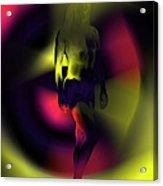 Blasted Rainbow  Acrylic Print