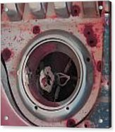 Bleed The Metal  Acrylic Print