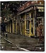 Bleeker Street Seven Am Acrylic Print