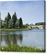 Blenheim Palace's Lake Acrylic Print