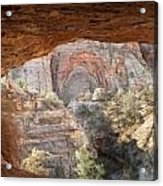 Blind Arch Overlook Acrylic Print
