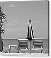 Bliss Is The Beach Acrylic Print
