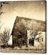 Block Barn Acrylic Print