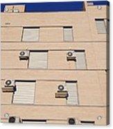 Block Of Flats, Spain Acrylic Print