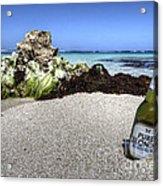 Blonde On The Beach  Acrylic Print