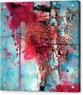 Blood And Stones  Acrylic Print
