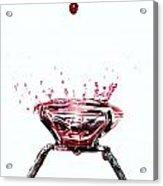 Blood Diamond Acrylic Print by Mats Silvan