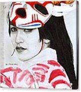 Bloodmoon Akali Acrylic Print