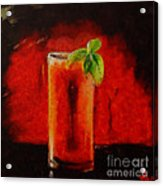 Bloody Mary Coctail Acrylic Print
