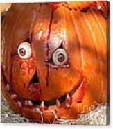 Bloody Pumpkin Acrylic Print