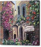 Blooming Alley Acrylic Print