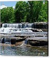 Blossom Road Waterfalls 5123 Acrylic Print