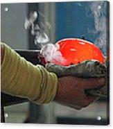 Blowing Glass IIi Acrylic Print