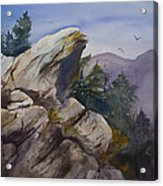 Blowing Rock Nc Acrylic Print