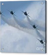 Blue Angel Join Up Acrylic Print
