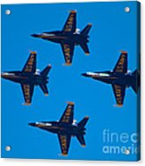 Blue Angels 10 Acrylic Print