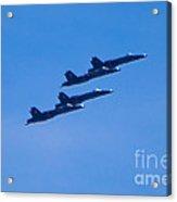 Blue Angels 16 Acrylic Print