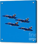 Blue Angels 25 Acrylic Print